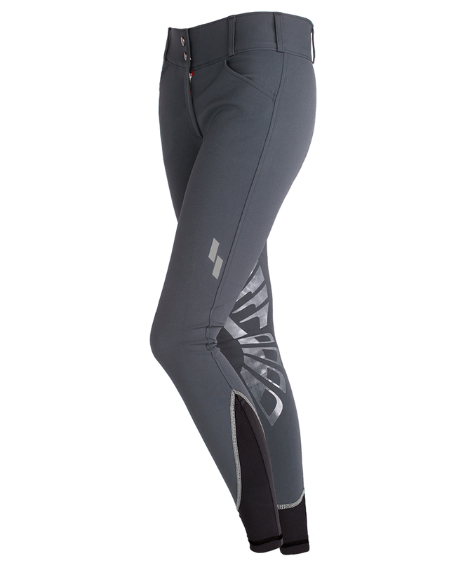 Struck WOMEN'S 50 SERIES SCHOOLING Breeches SLATE - Luxe EQ