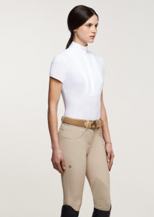 Cavalleria Toscana American Short Sleeve Shirt - Luxe EQ