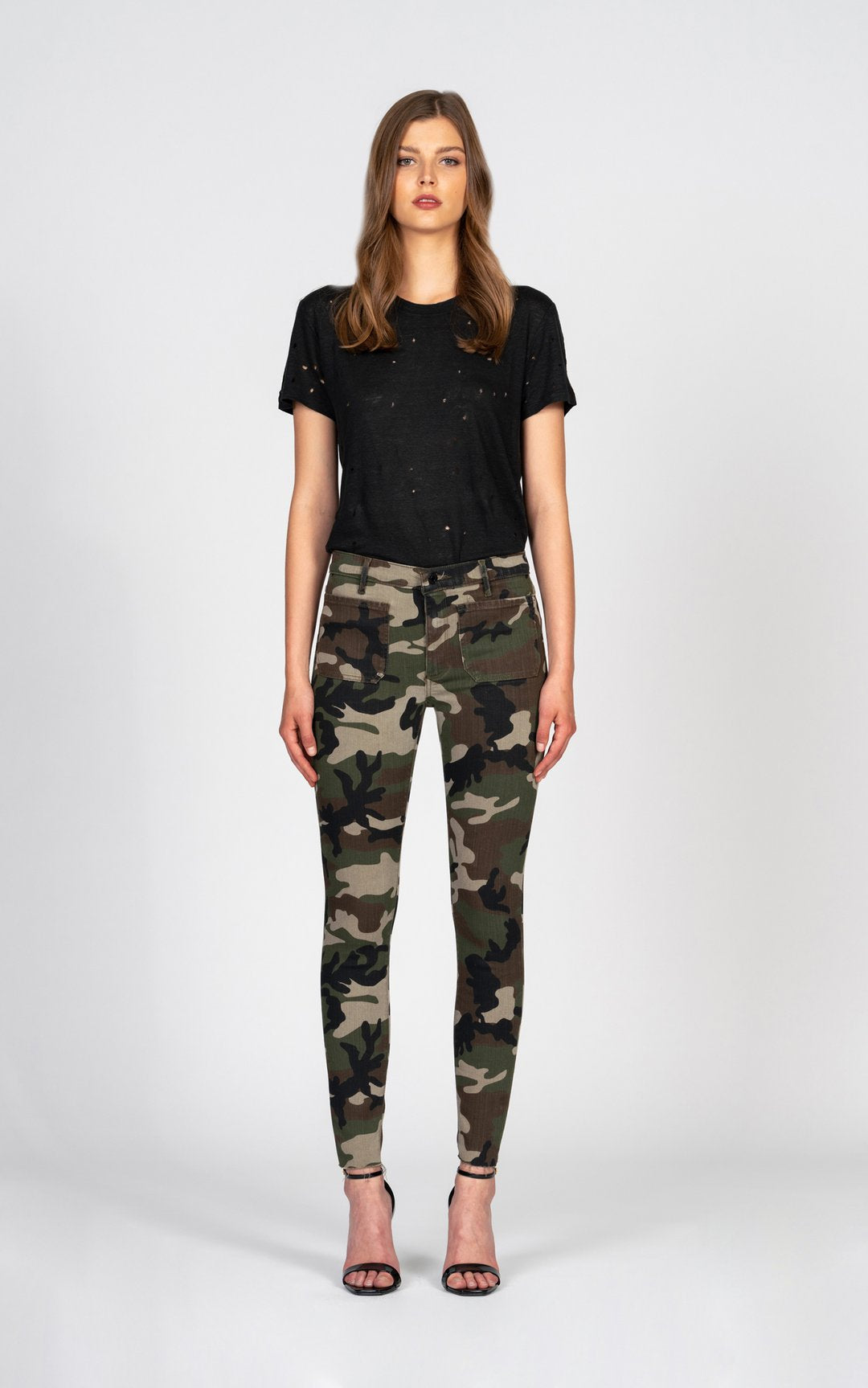 Black Orchid Ava Patch Pocket Camo - Luxe EQ