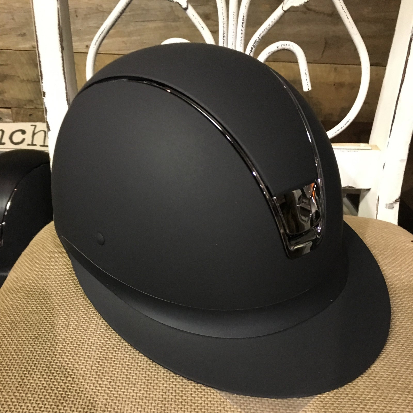 Miss Shield Samshield wide brim helmet for sun protection