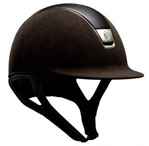 Samshield Helmet Premium Alcantara with Leather Top - Luxe EQ