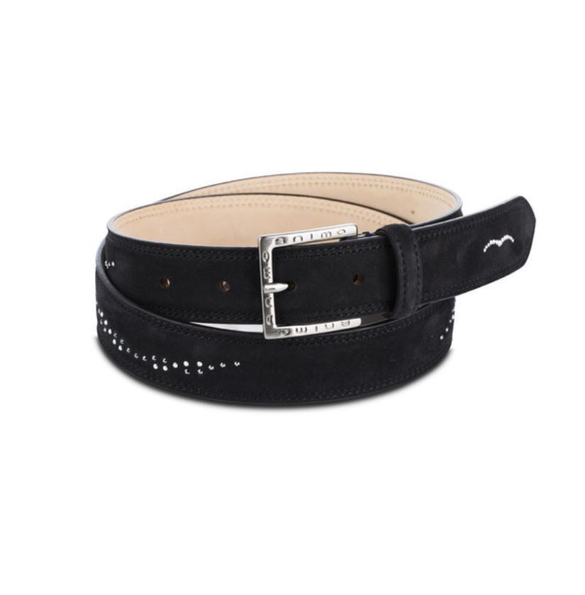 Animo Henry Belt with Swarovski Crystals - Luxe EQ