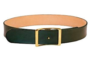 C.S. Simko Belt with Solid Brass Buckle