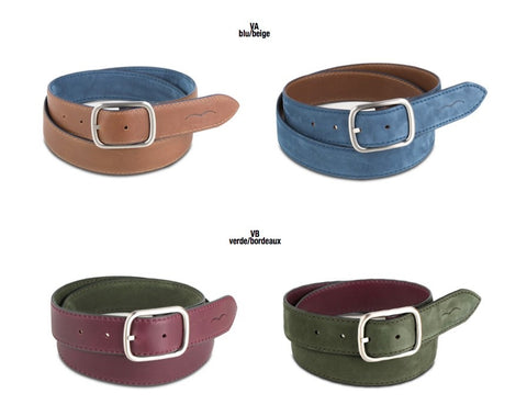 Duftler Spur Belt Burgundy Patent With Gunmetal Buckle