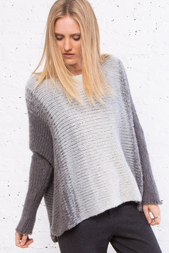 Wooden Ships Chunky Rusna Ombré Sweater