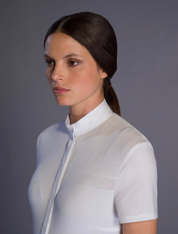 Cavalleria Toscana Wing Collar L/S Shirt with Bib CAD132