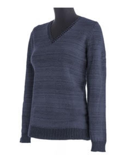 Animo Shetland Wool V Neck Sweater - Luxe EQ