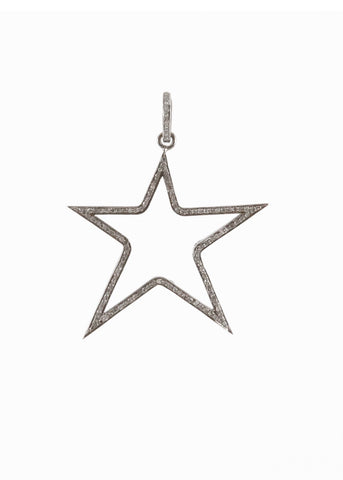 Harvest Jewels Dream Bar Pave Diamond Pendant