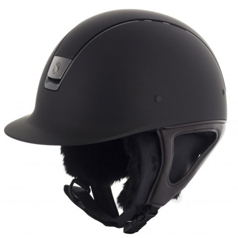KEP Helmet Polo Visor Matte Black Medium Shell