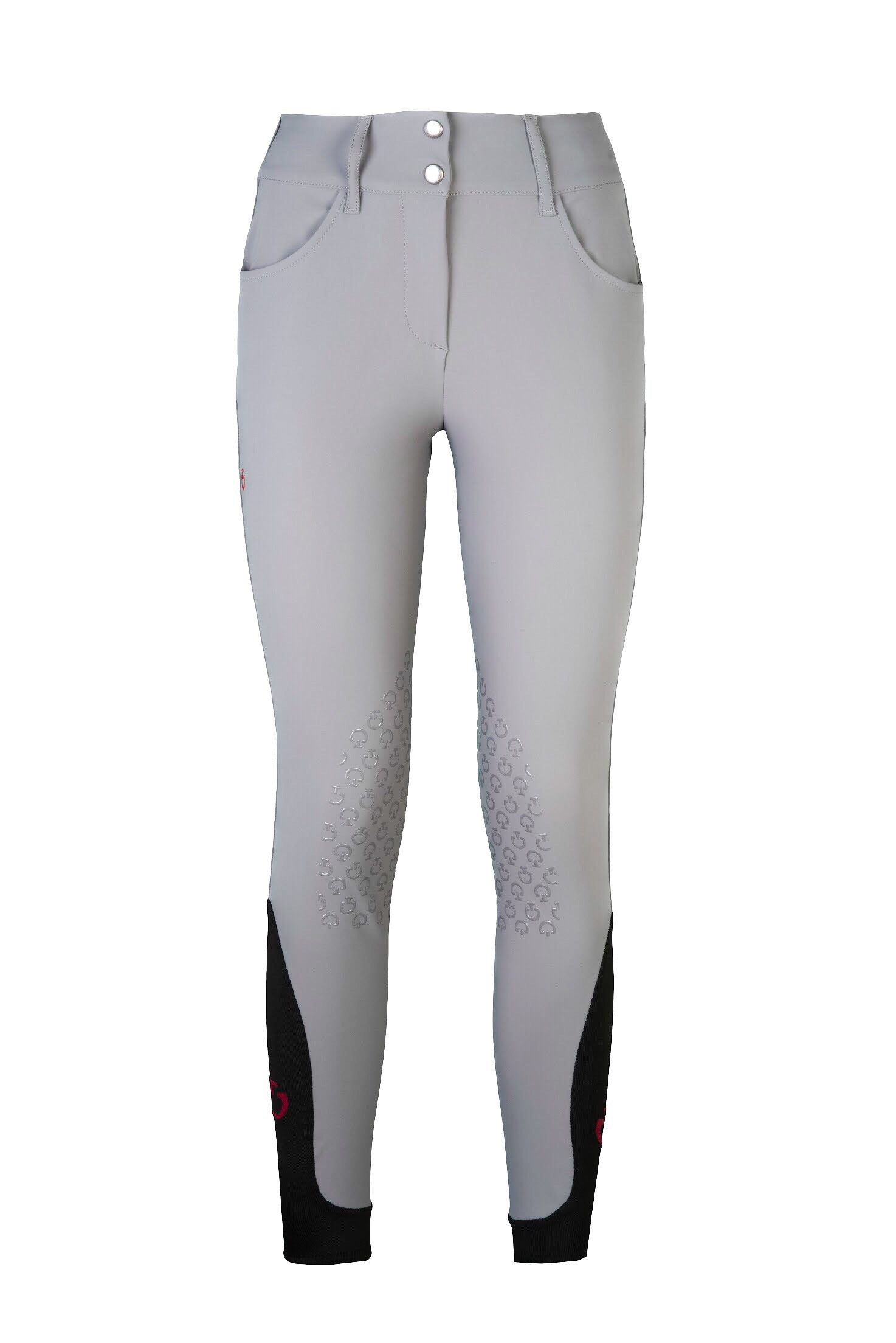 Cavalleria Toscana American Breeches Light Grey 8100 - Luxe EQ