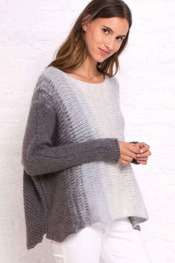 Wooden Ships Chunky Rusna Ombré Sweater - Luxe EQ