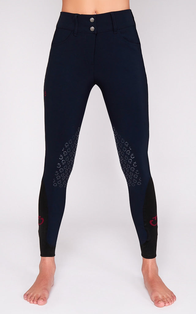 Cavalleria Toscana American Breeches PAD090 SS20 Navy - Luxe EQ