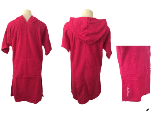 Pink Togtastic Terry Towel Pool/Beach Poncho Accessories