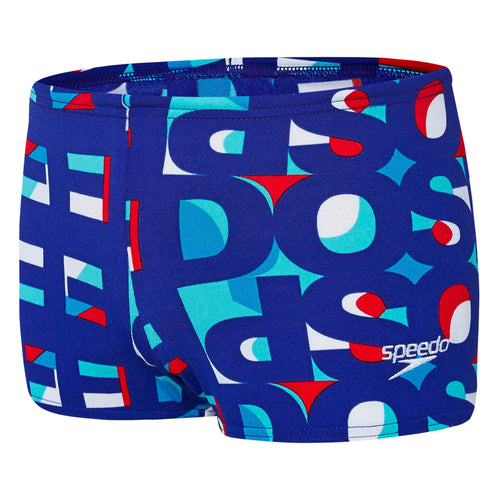 Toddler Boys Text Aquashort Speedo
