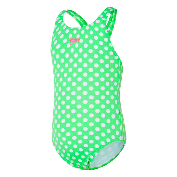 Toddlers Girl Small Spot Medalist Summer Green Speedo