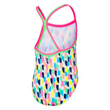 Toddlers Girl Paint TwinBack Speedo
