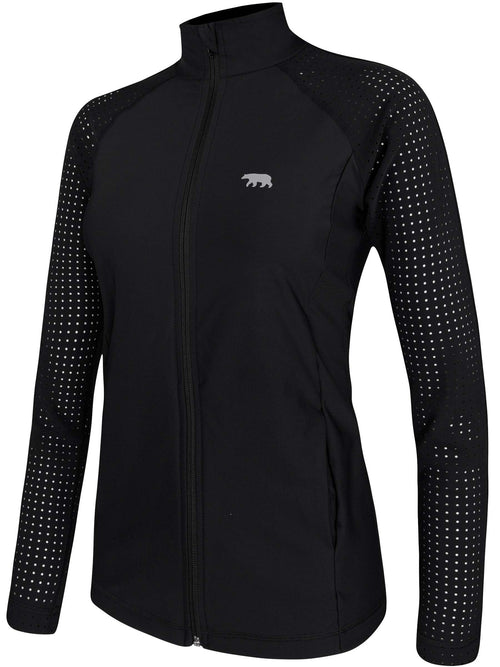 Running Bare - Cardio Zip Jacket/ Black