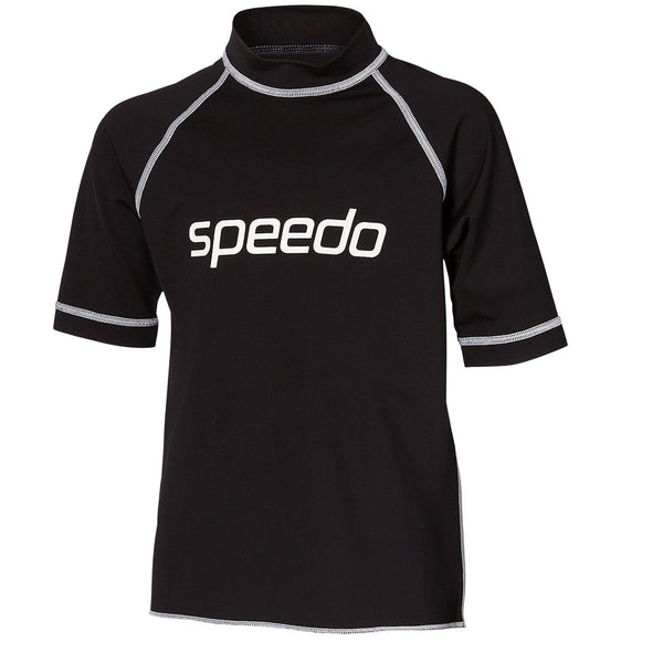 Logo Sun Top - Atlantis -Black Speedo