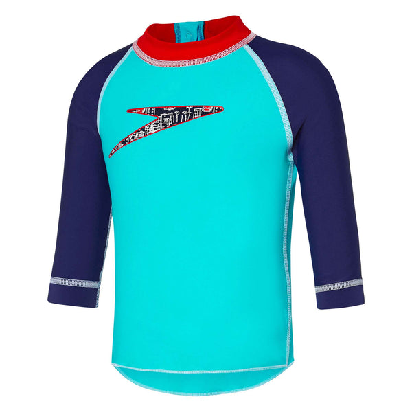 Toddlers Traffic Long sleeve Sun Top Speedo