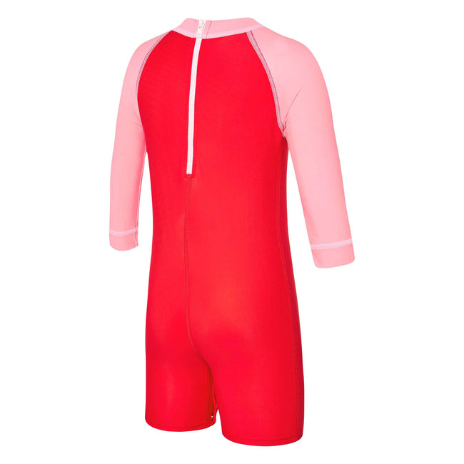 Baby Girl Logo Long Sleeve Suit Speedo