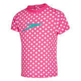 .Large Spot Sun Top Shocking Pink