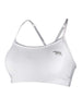Running Bare - Push Up Crop White