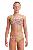 Bound Up -Girls  Racerback Two Piece Funkita