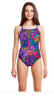 Brick Bracque Cross Over Back Girls  Funkita