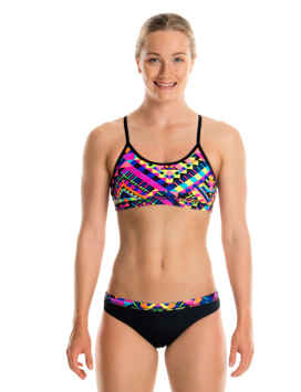 Zag Ziggler -Girls Criss Cross Two Piece  Funkita