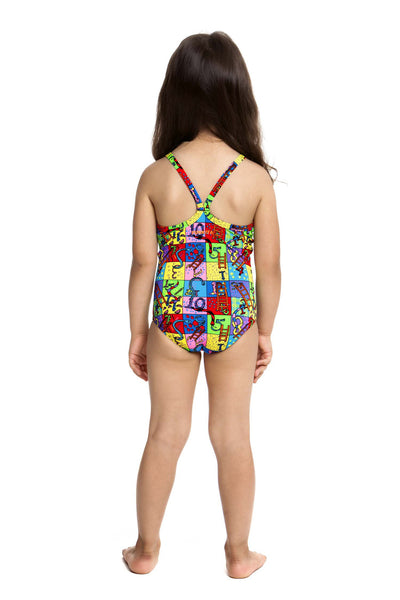 Slippery Snakes Toddler Girls Funkita