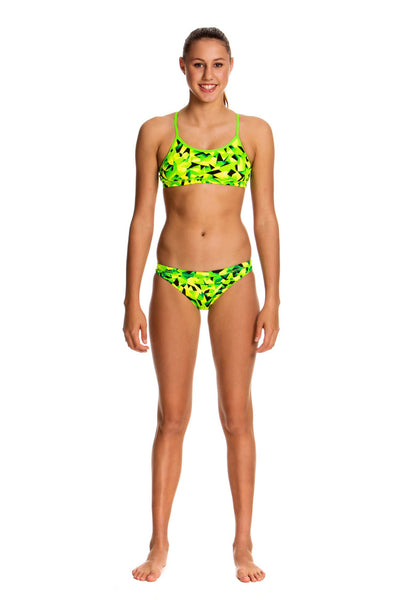 Supersonic -Girls  Racerback Two Piece Funkita