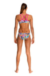 Blossom Paradise -Girls  Criss Cross Back Two Piece Funkita
