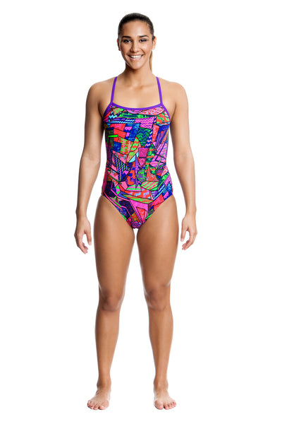 Brick Braque Cross  Back Ladies Funkita