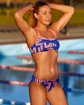 Hot Rod Funkita Criss Cross Two Piece