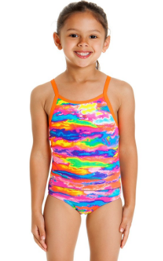 Hot Wash Tankini  Funkita  Toddlers