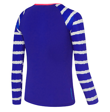 Lineal  Long Sleeve Sun Top/ Girls