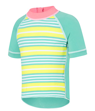 Logo Sun Top Stripey Speedo