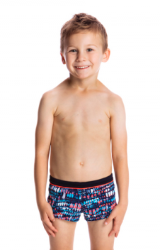 Lotsa Dots Square Trunks Toddler Boys