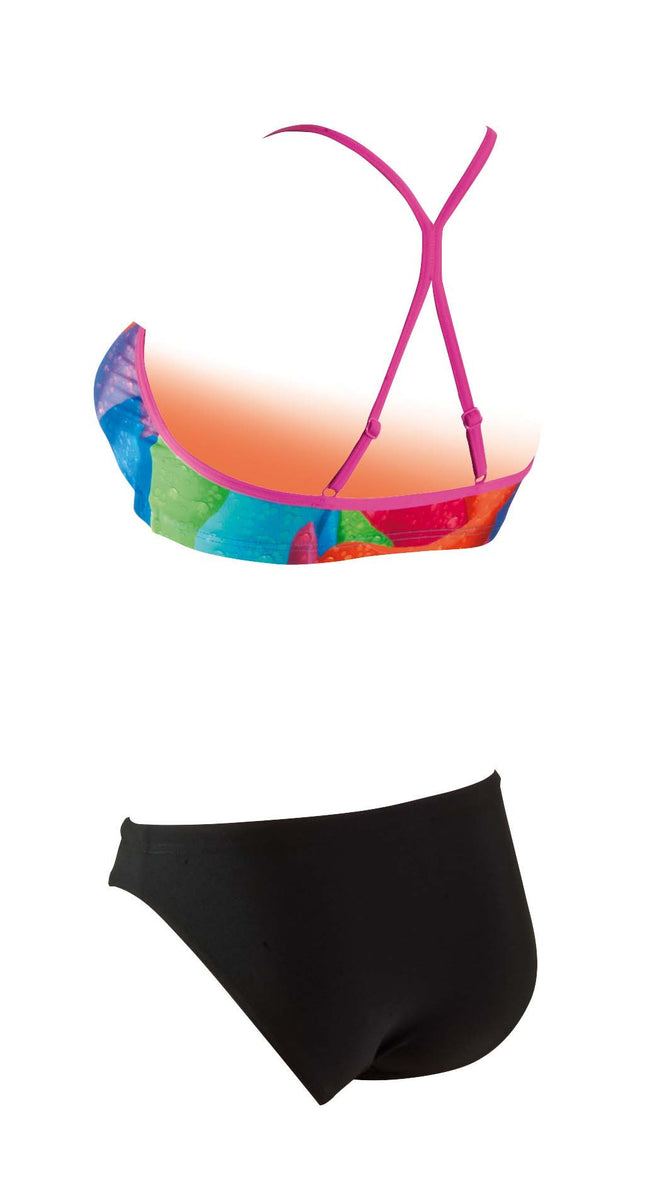 Rainbow Rose 2 piece  Ladies  Zoggs