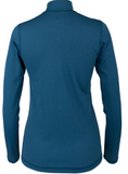 Long Sleeve Zip Jack Teal