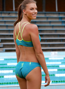 Ripple Effect Funkita Criss Cross Two Piece