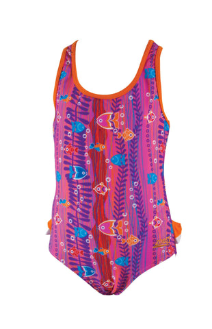 Sea Garden Frill Actionback  Zoggs children