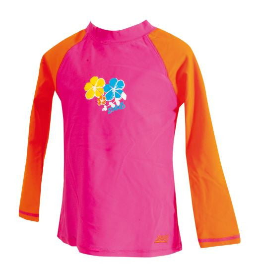 Seaside Floral Long sleeve Suntop Zoggs