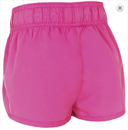 Kirra Girls Short Neon Pink  Zoggs