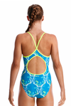 Thirsty Cow -Girls Diamond Back Funkita