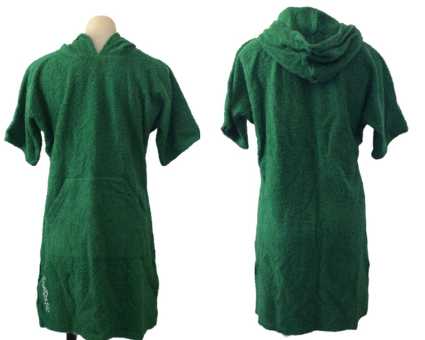 Green Togtastic Terry Towel Pool/Beach Poncho Accessories