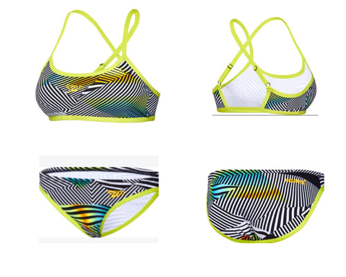 Sound Waves Bikinis Ladies Speedo