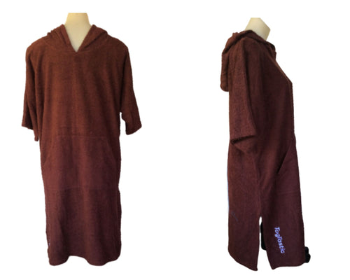 Brown Togtastic Terry Towel Pool/Beach Poncho Accessories