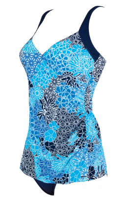 Zen Resort Wrap Swimdress Zoggs