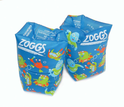 Zoggy Blue Swim Roll Ups